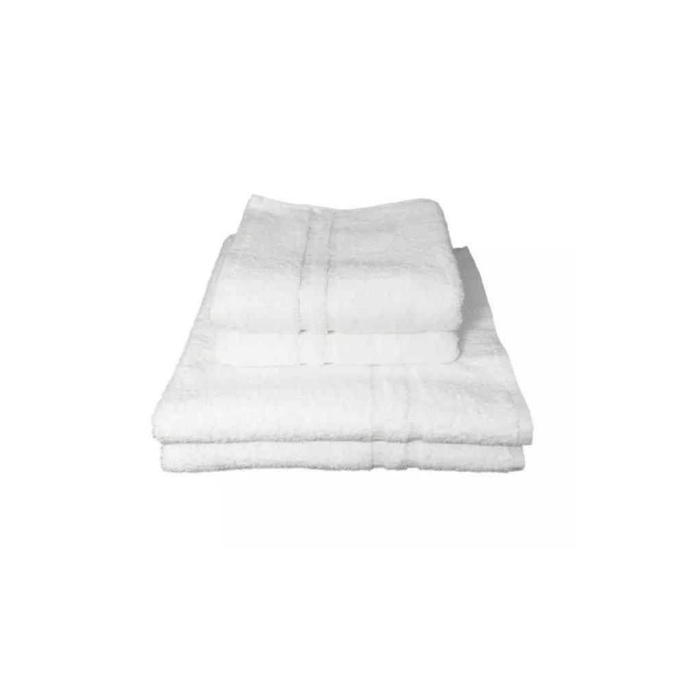 Heerlijk zachte witte handdoek van luxe kwaliteit