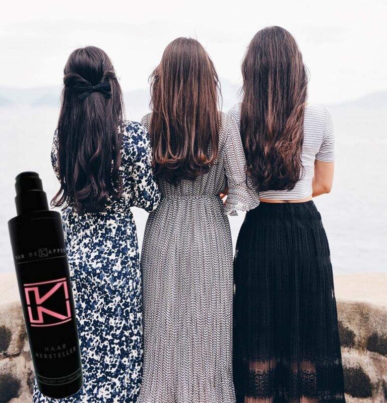 Haarhersteller met lang haar